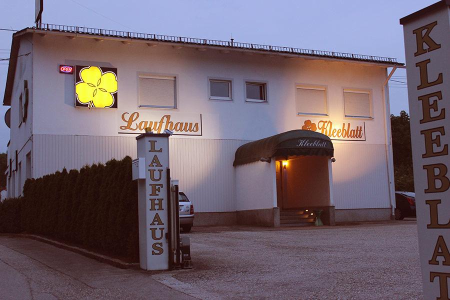 Laufhaus Kleeblatt in Sattledt - Das LAUFHAUS direkt am